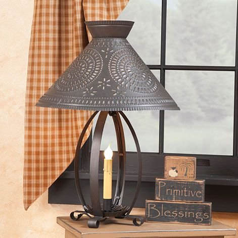 Country Bedroom Lamps Irvins Tinware