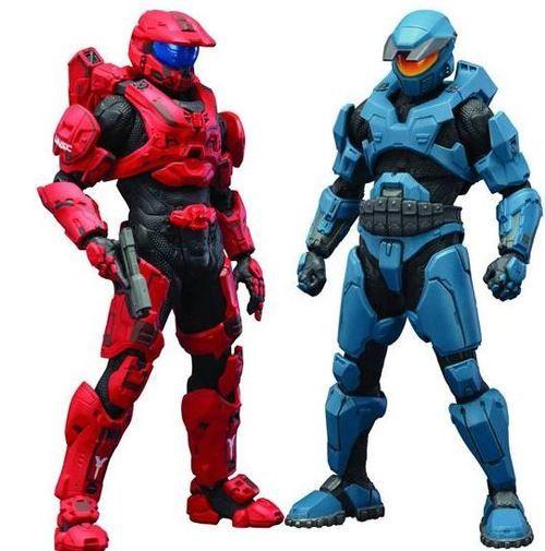 Halo 4 ArtFX Mjolnir Mark V & Mark VI DX 1/10 Figure 2-Pack
