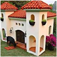 Guest Post Diy Dog House Cool Dog Houses Dog Mansion Luxury