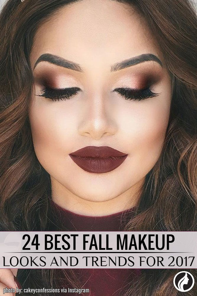 24 Best Fall Makeup Looks and Trends for 2019 | Meikkaus ...