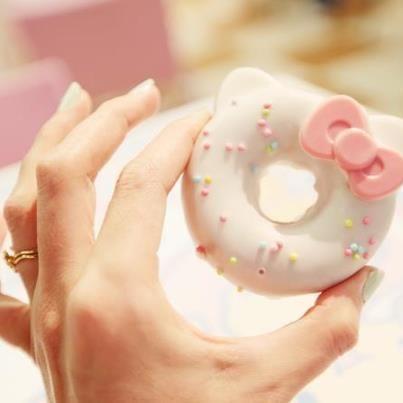 헬로키티 도넛
