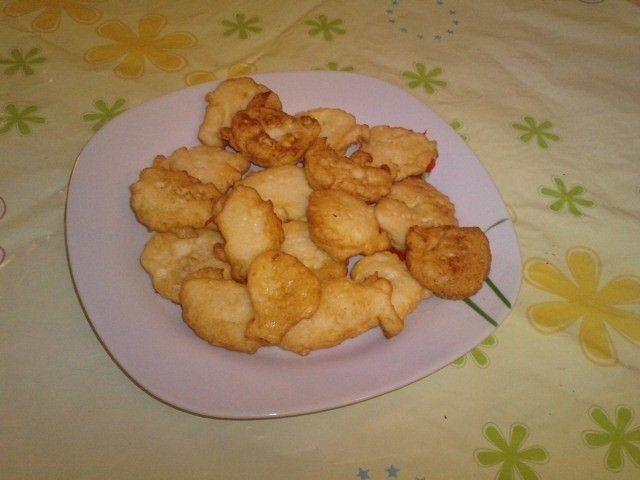 Tortilla de coliflor para niños