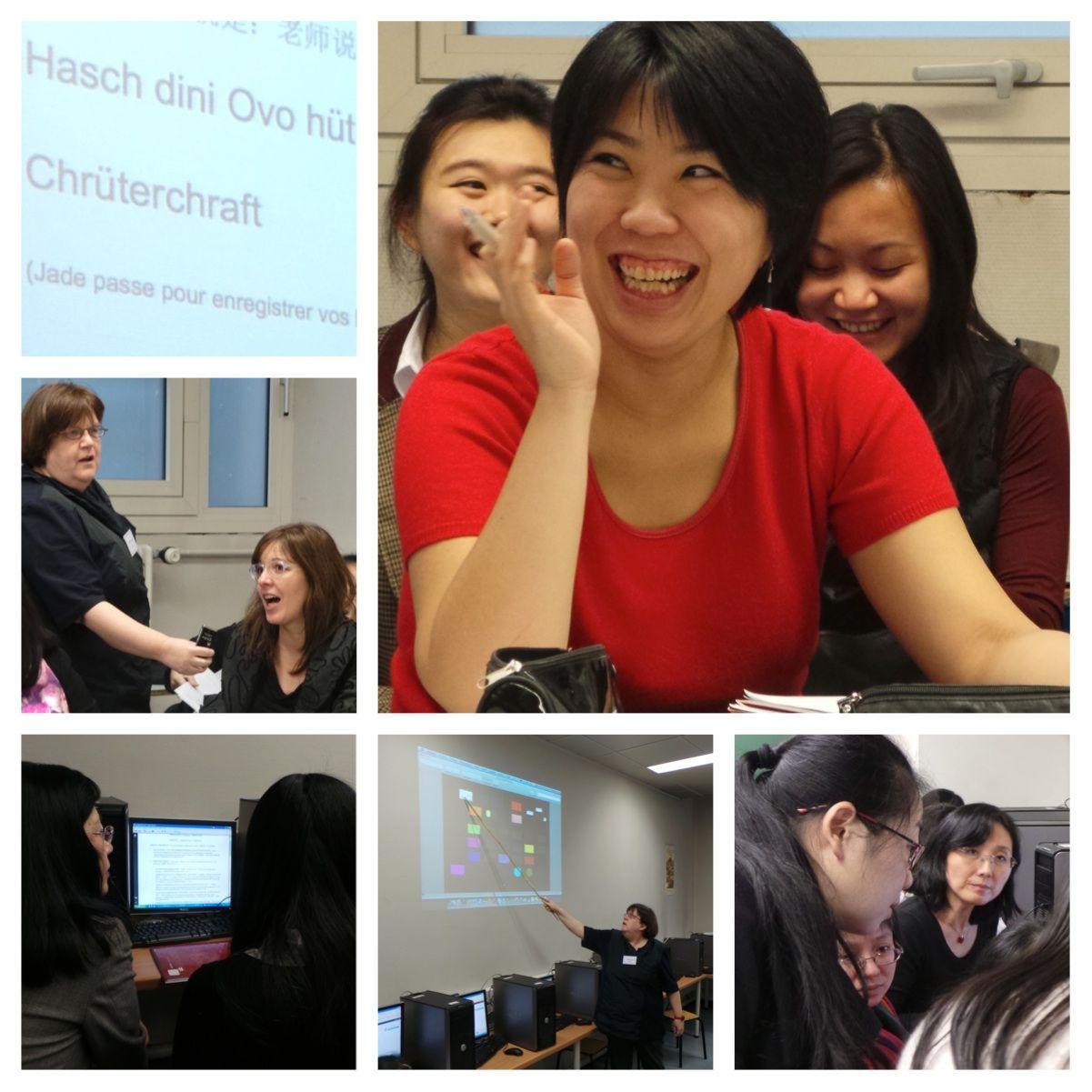 Le e-learning au coeur des apprentissages et du plaisir d'apprendre !  Et vous, avez-vous déjà suivi une formation en ligne ? #écolenumérique #formation  #paris #parisnow  #séminaire  #numérique #école #collège #lycée #ensemble #plaisir #chine #chinois #china #formation  #pédagogie #europeetinternational