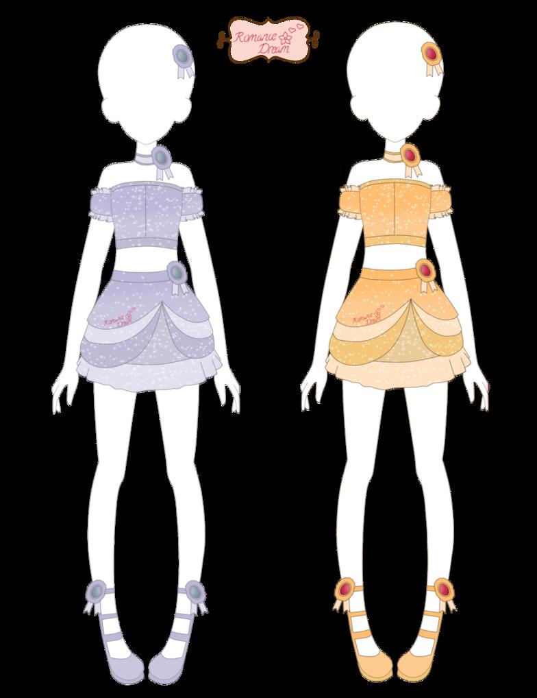 Romance Dream Treasured Coords By Xmagical Ichigo Tanx Dress Design Sketches Art Clothes Dress Sketches