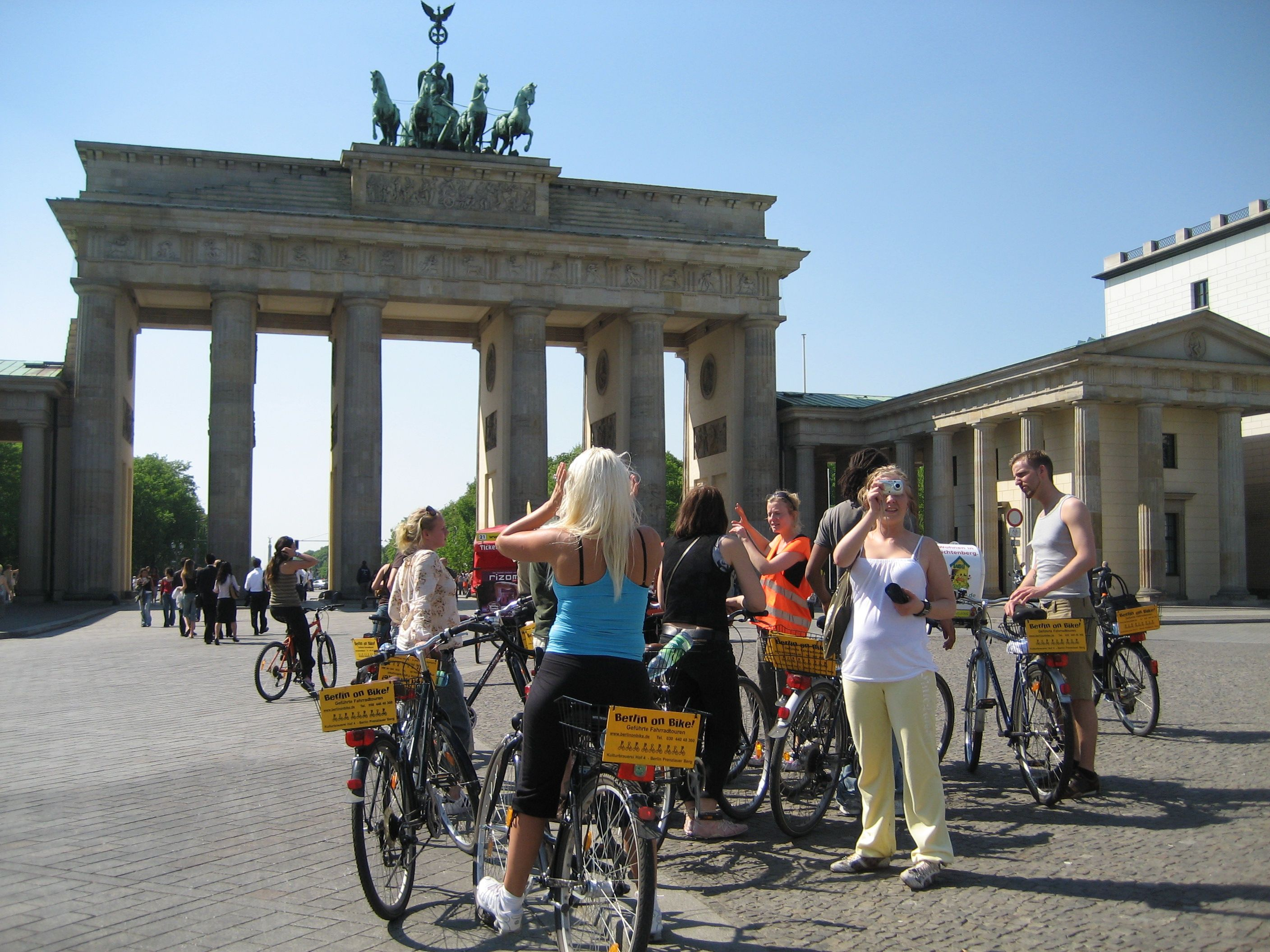 Berlin - Berlin is a perfect city to discover by bike. Check out our tours at www.bajabikes.eu/nl/fietsen-in-berlijn
