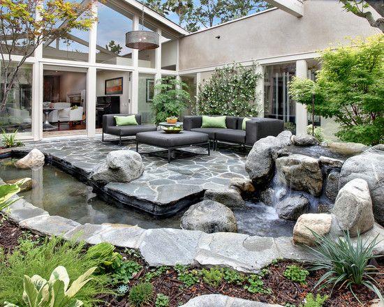Spaces Atrium Design, Pictures, Remodel, Decor and Ideas ...