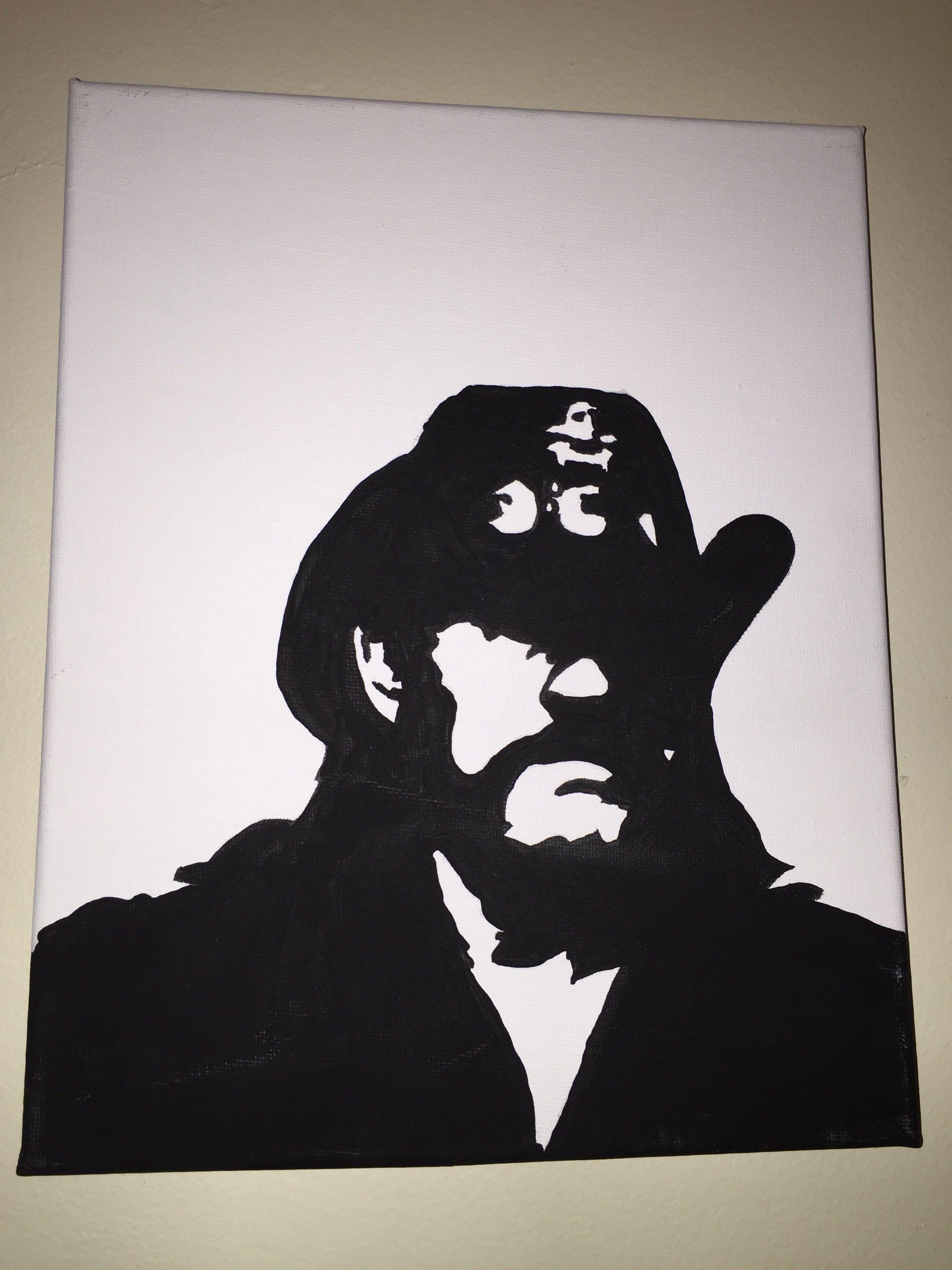 75ac98cf39376 Hand painted rock stars #RockandRoll #RocknRoll #rock Lemmy ...