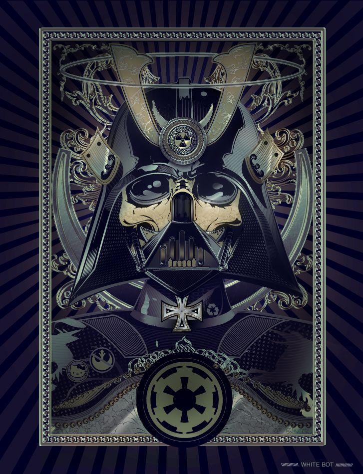 I can't get enough Vader/skull mixes