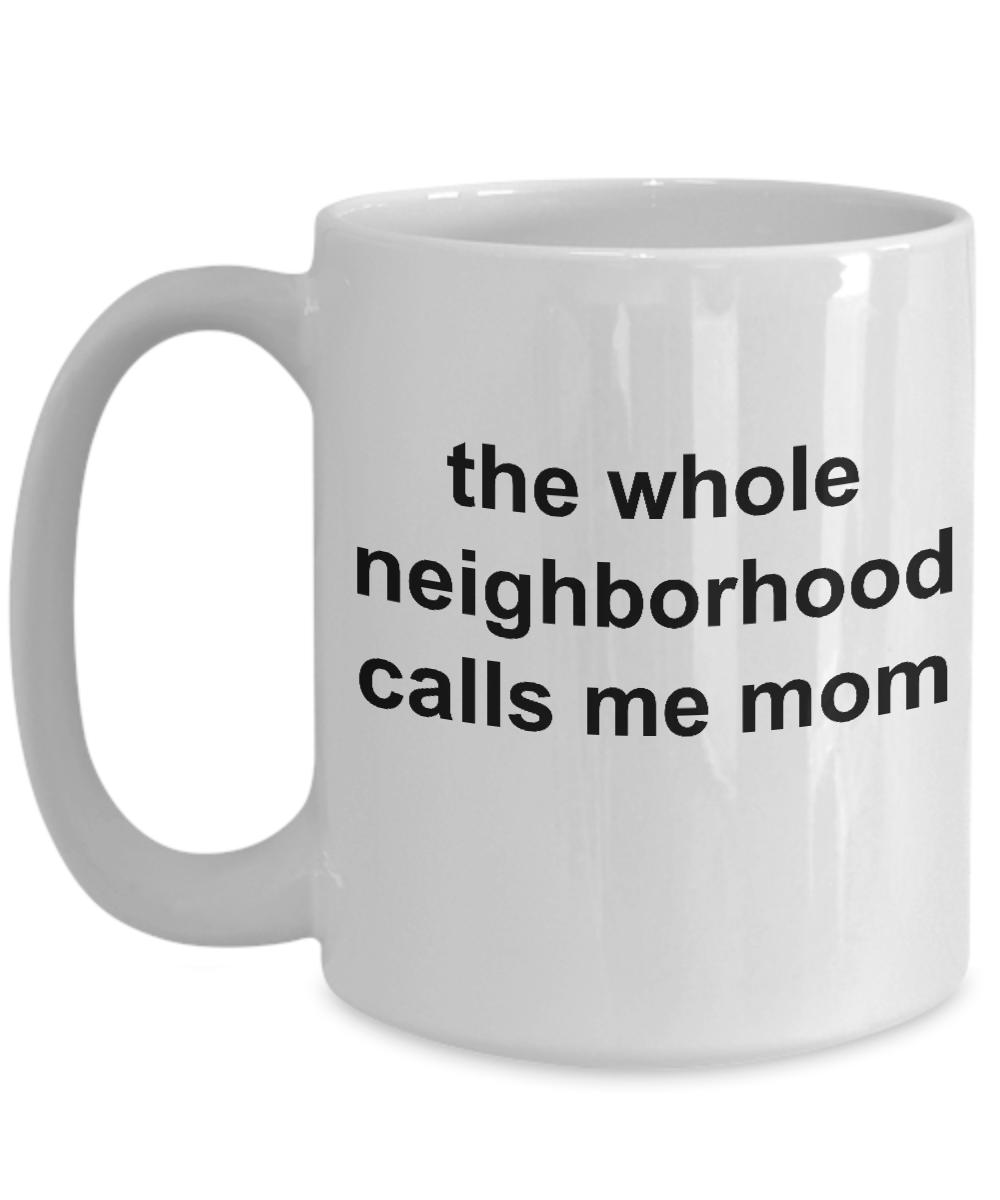 Unique Glam Mom Gift Bday Coffee Mugs For Her 15 Oz White Cup