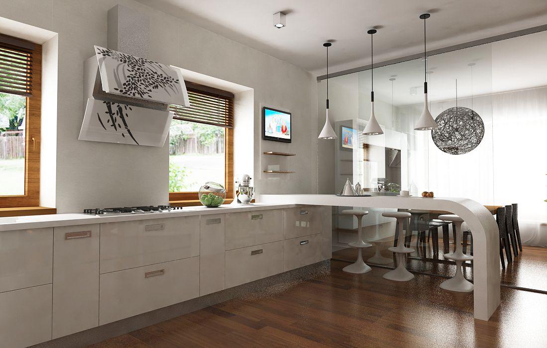 Cocina y comedor de mas de 20m2 propuestas cocinas for Comedor estilo minimalista