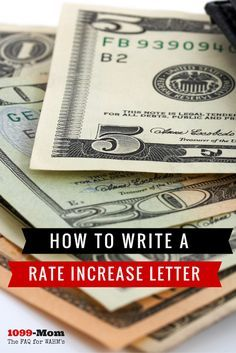 rate increase sample letter