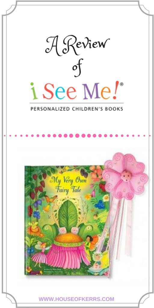 A Review of I See Me! Personalized Children's Books with Spring Giveaway! –