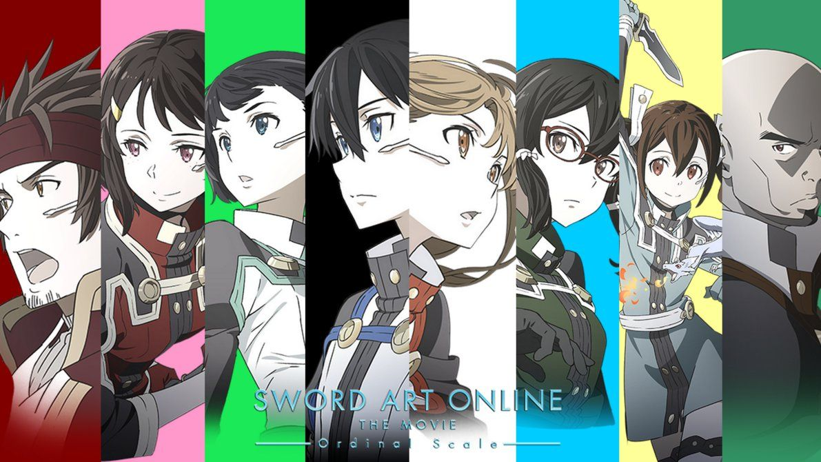 Review sword art online:ordinal scale