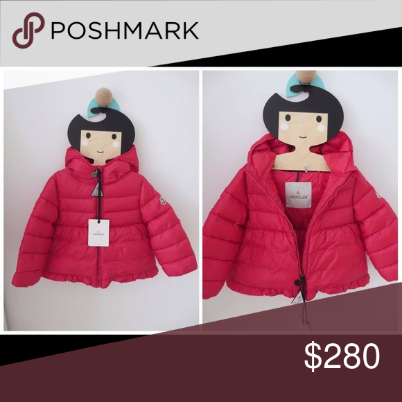 269b38ead25c Moncler baby girl winter jacket Brand New with tags. Raspberry ...