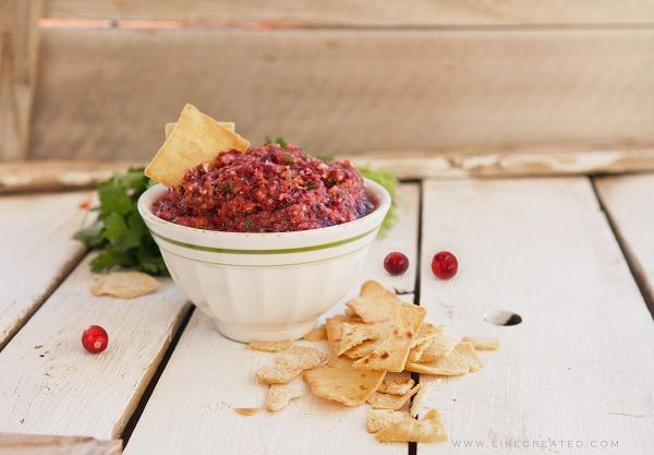 Oh my word, this Cranberry Salsa recipe from Stephanie looks AMAZING! I love salsa...I am so making this! enjoy! -Linda   Cranberry Salsa Recipe It was once common to write recipes on cards, or cut them straight out of the magazine. Now in the wo