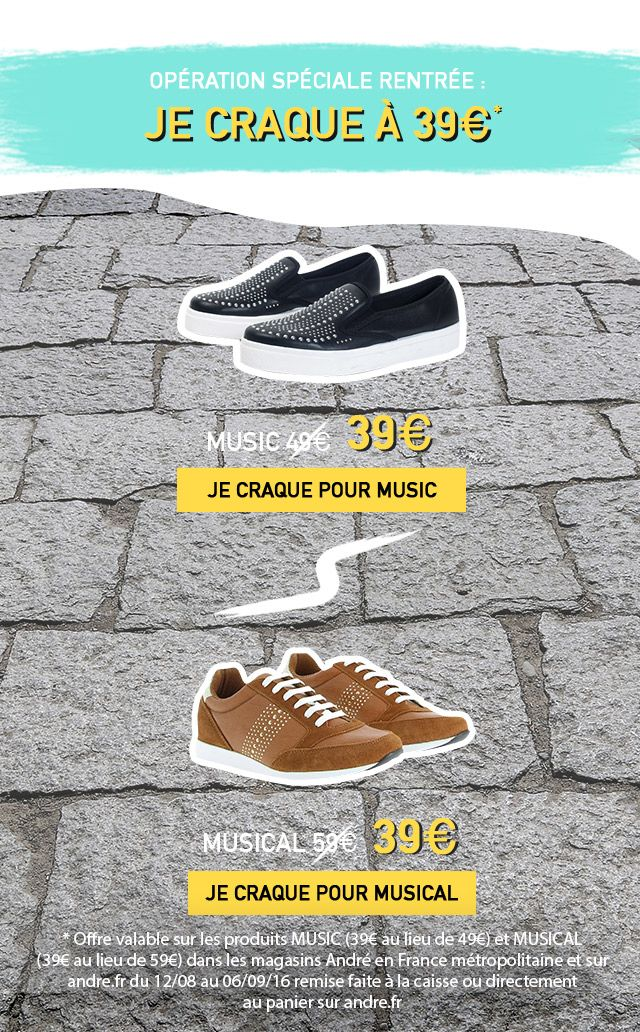 fb398ae5479 collection chaussures andre