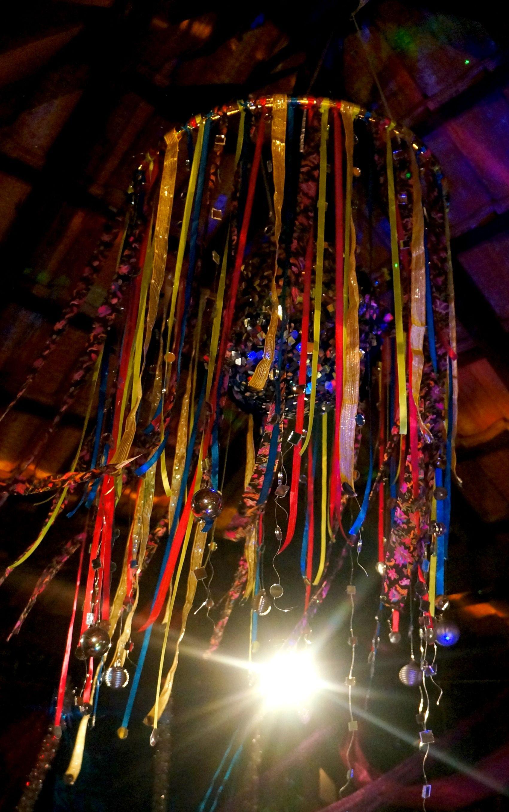 Hula Hoop chandelier Corob Pinterest