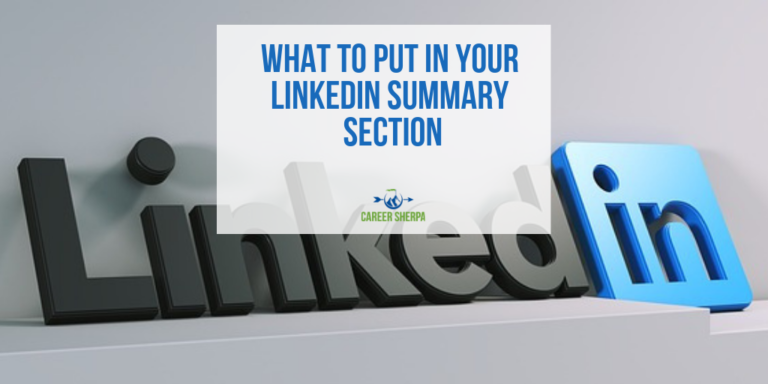What To Put In Your LinkedIn Summary Section Linkedin