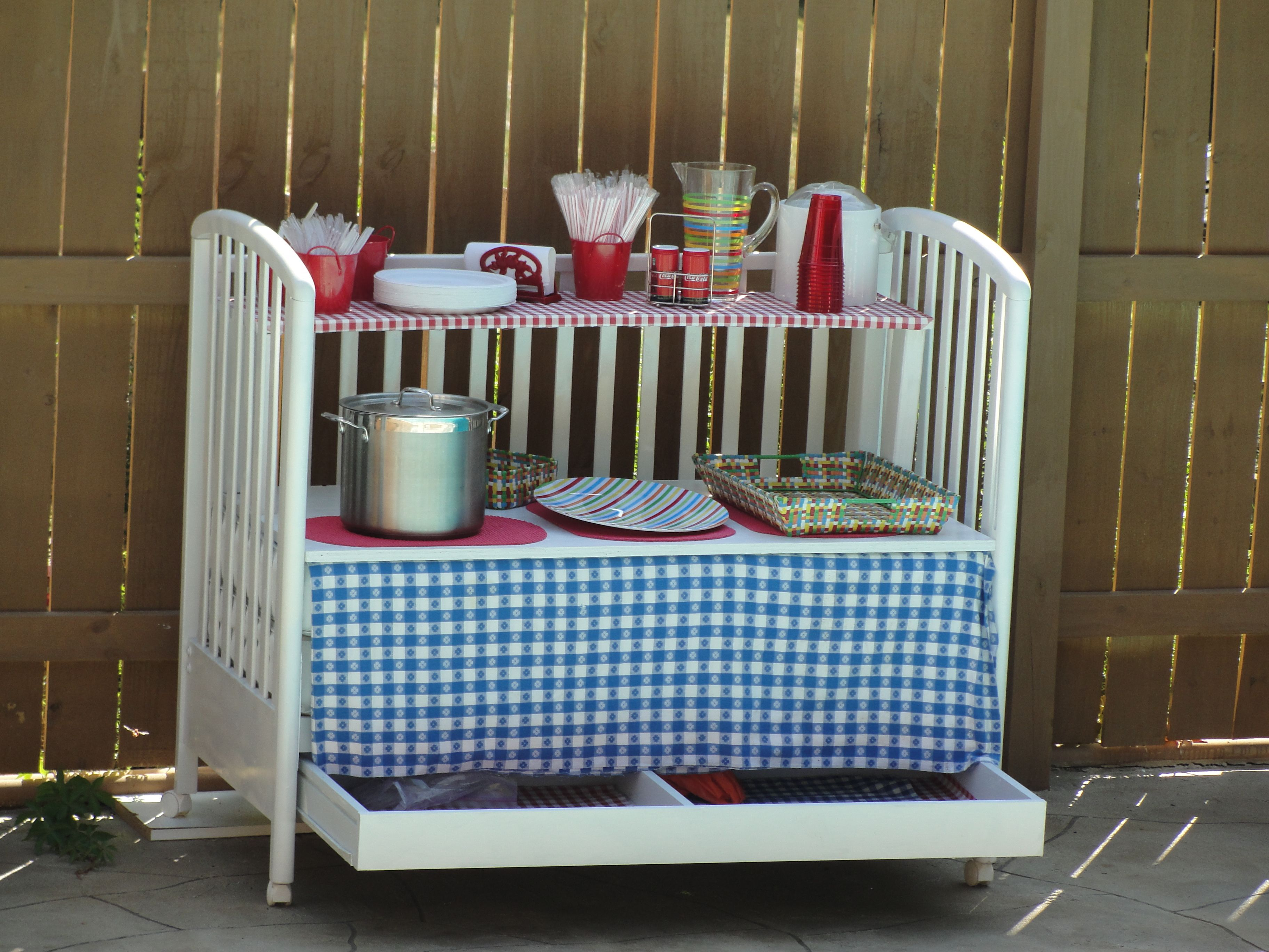 20 Ways To Upcycle A Crib