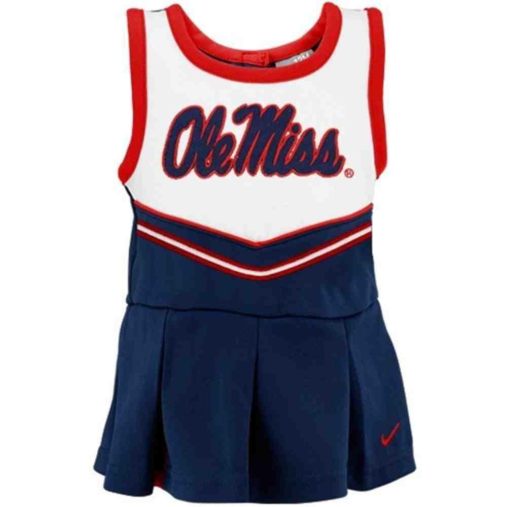 Ole Miss Cheerleader Outfit Trajes De Porrista Leotardos Conjunto De Vestido