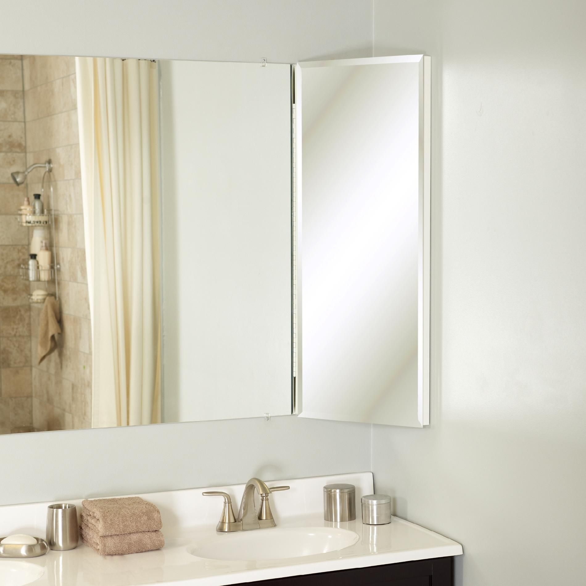 Zenith Products Over The Mirror Corner Cabinet 14 U0026quot X 36
