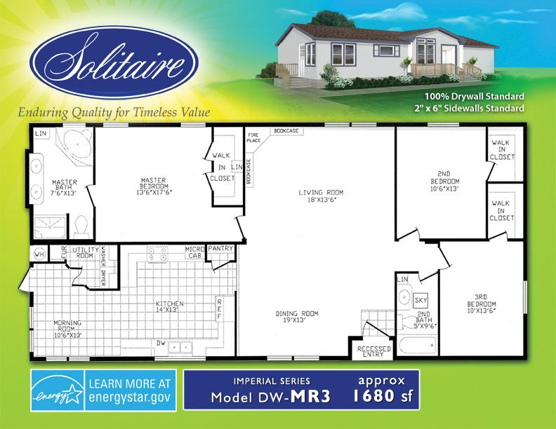 double wide floorplans manufactured home floor plans mobile home floor plans - Double Wide Home Floor Plans