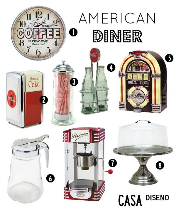 Last Week We Had Fun Looking At American Diners With A 1950 S Feel See Editor Journal The Allure Of Old Fashioned