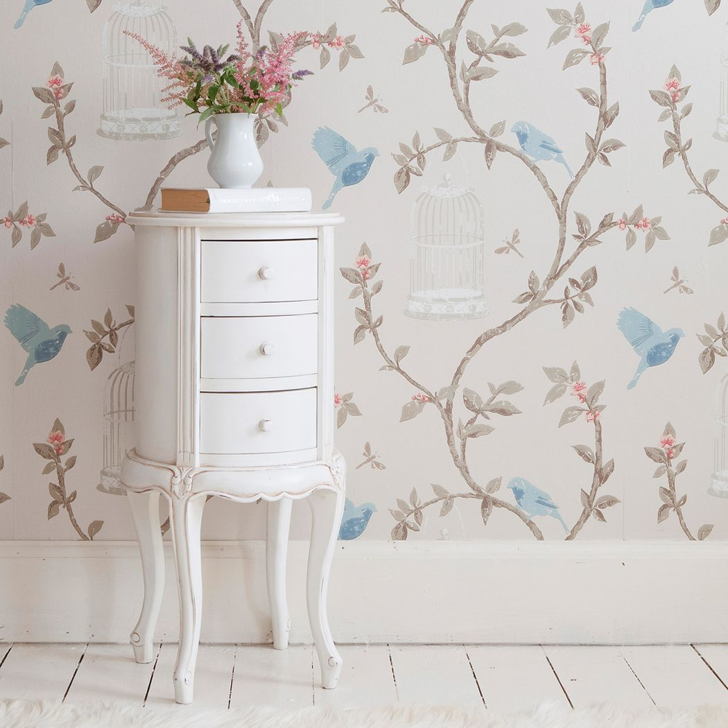 provencal round white bedside table bedrooms tables and french bed