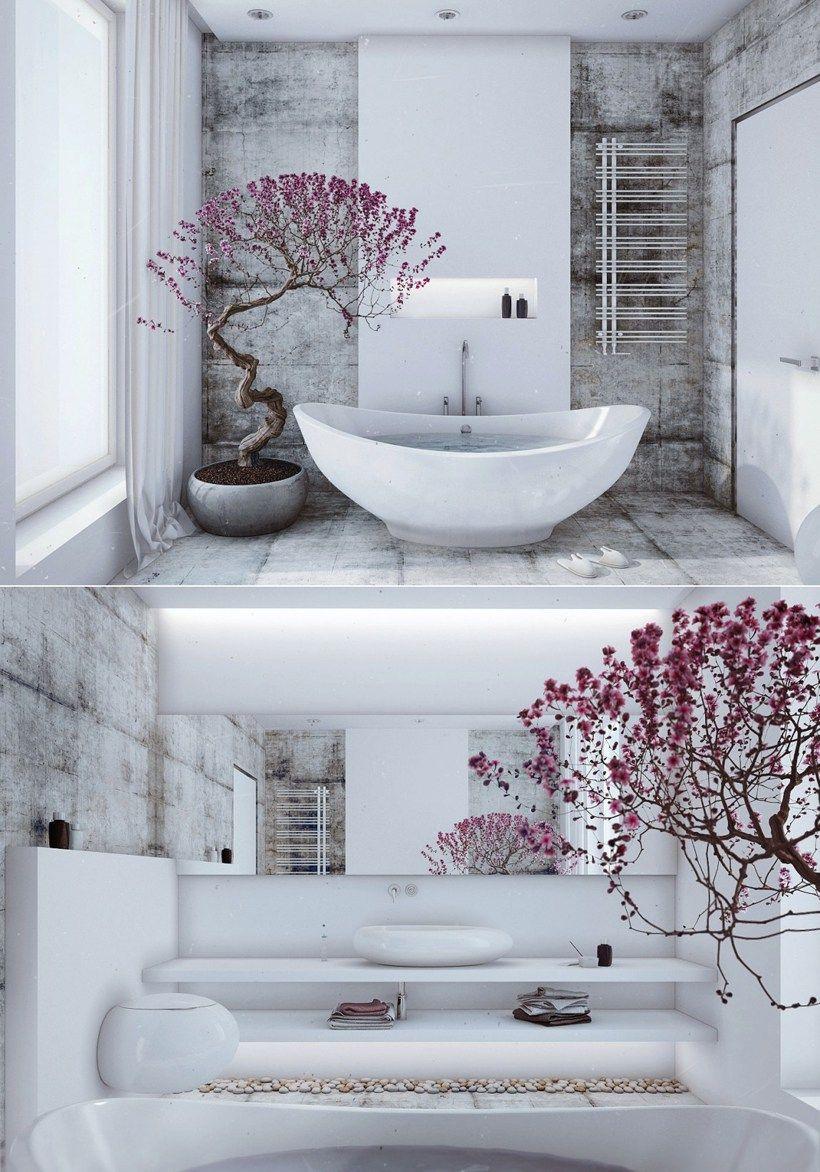 Decoracao Zen 50 Imagens Para Inspirar Banheiro Zen Design De