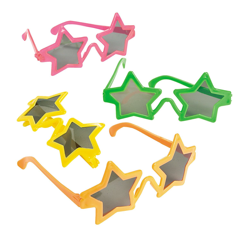 Kids\' Star-Shaped Sunglasses | Birthdays, Star party and Birthday ...