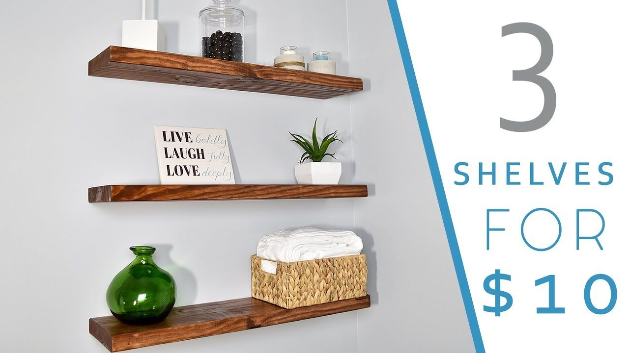 How To Make Floating Shelves With No Hardware Floating Shelves Floating Shelves Diy Ikea Floating Shelves