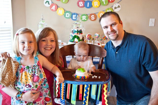 Anderson's 1st Birthday | CatchMyParty.com