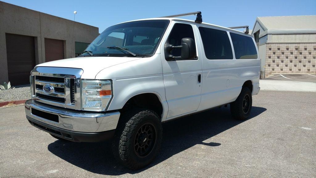 Weldtec Designs 4 Suspension Upgrade Ocotillo Cruiser Page 6 Expedition Portal Ford Van 4x4 Van Lifted Van