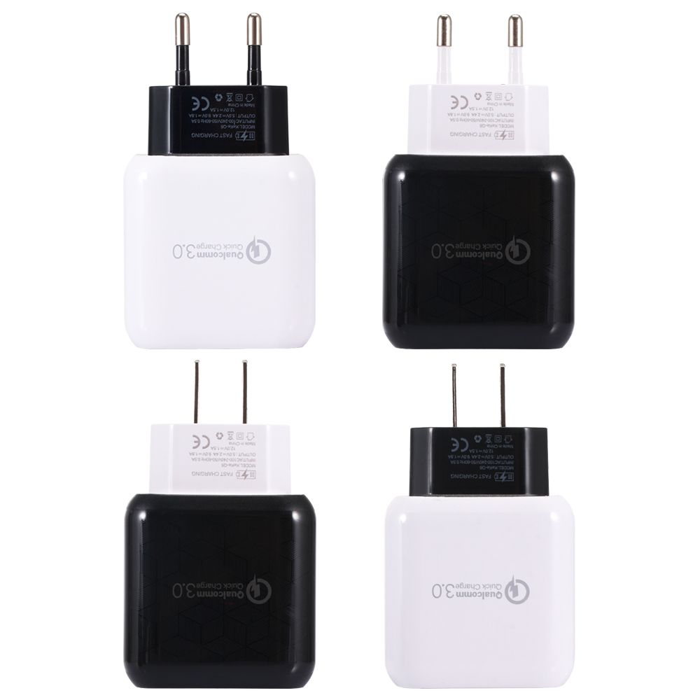 198c8e30bab US EU Q6 Quick Charger 3.0 USB Charger Power Adapter For Smartphone Tablet  PC #computer #tablet #network #mac #laptop #accessories #technology #trend