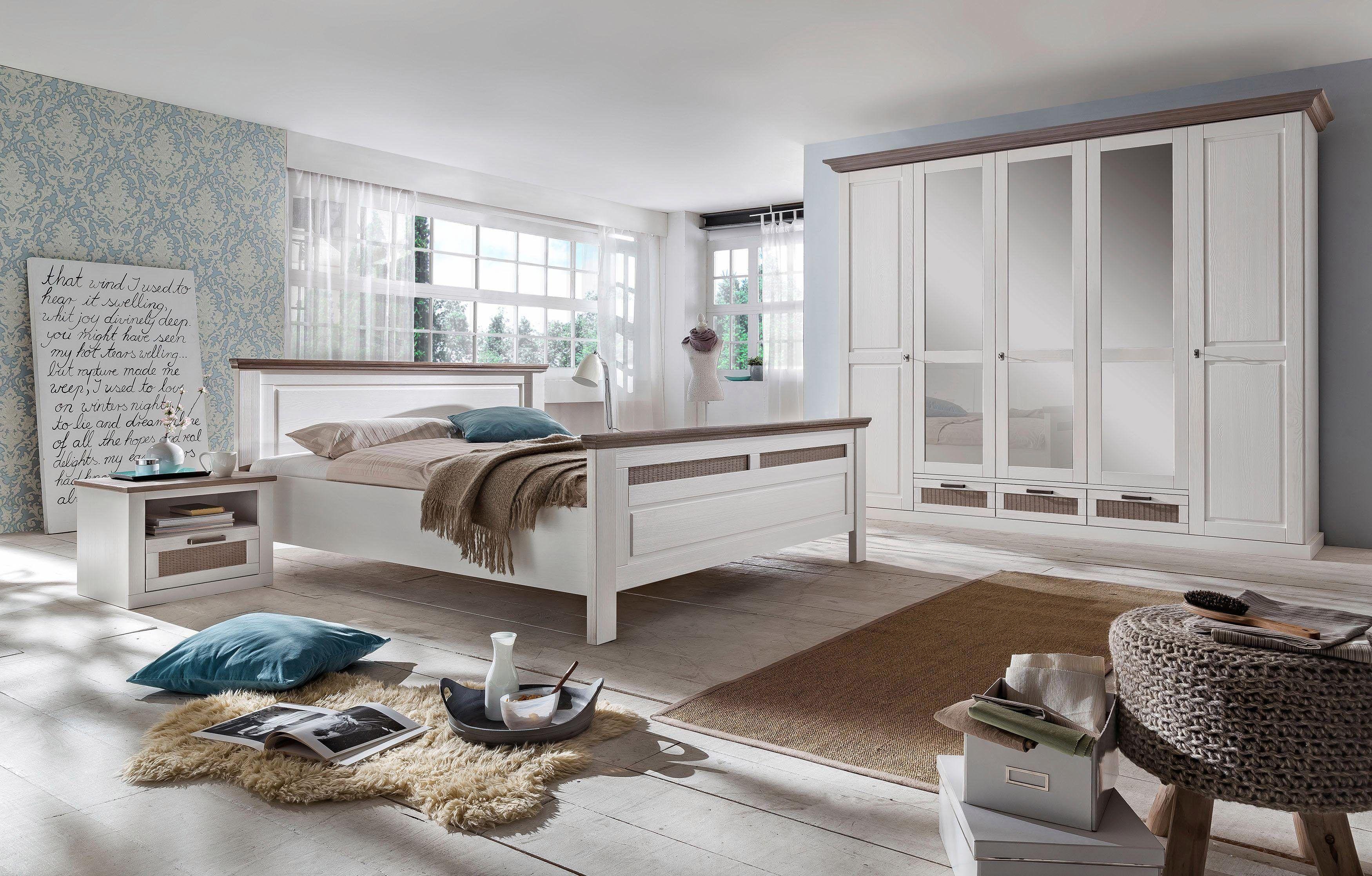 Schlafzimmer Pinie ~ Home affaire teiliges schlafzimmer set lugano« trg schrank