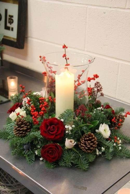 63 Arranjos De Natal Com Inspiracoes Encantadoras Decoracao