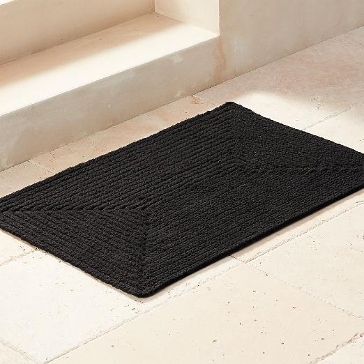 Modern Doormats Outdoor Mats And Shower Mats Cb2 In 2020 Modern Doormats Door Mat Outdoor Mat