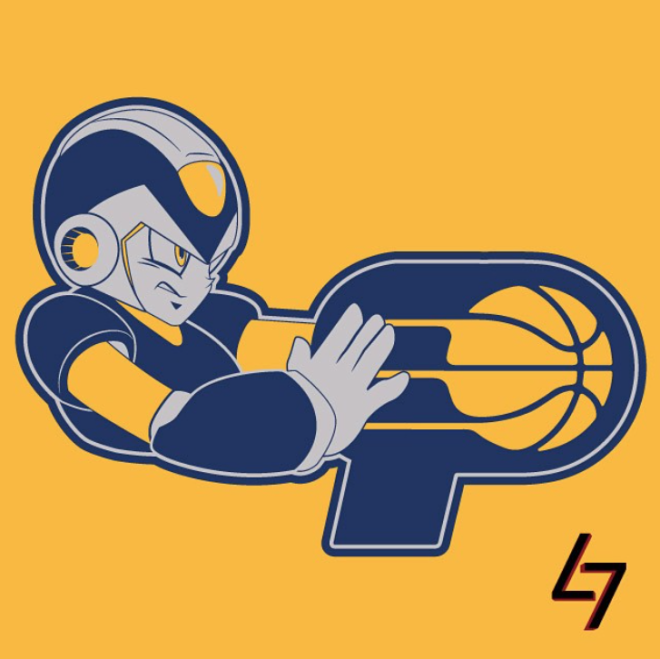 Graphic Designer Combined Nba Logos With Classic Video Game Characters Classic Video Games Game Character Video Game Characters