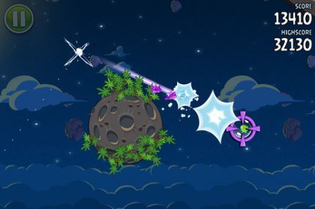 3. 2 . 1. Ignition ! Angry Birds Space launched ! iPhone