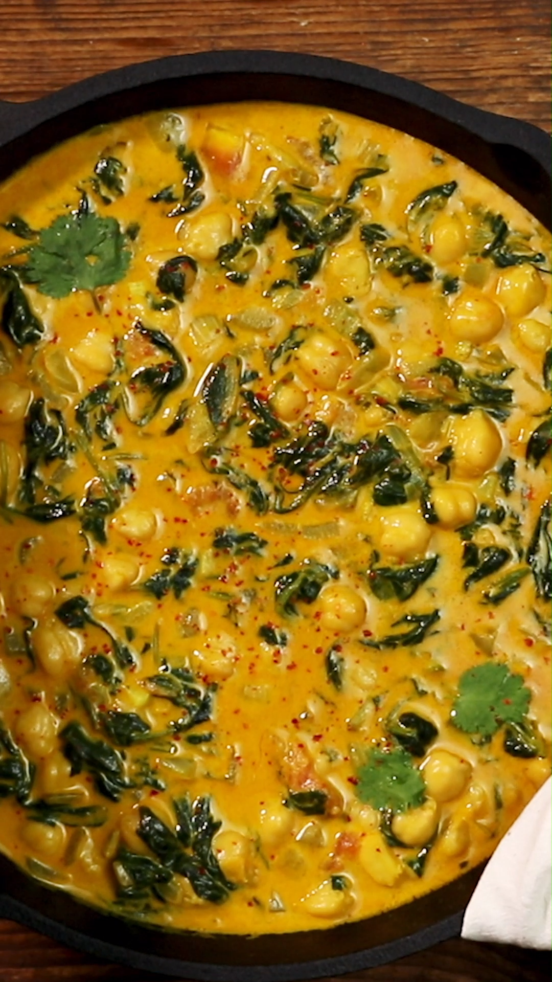 Schnelles Spinat-Kichererbsen-Gericht - Selina&Vorspeisenrezept