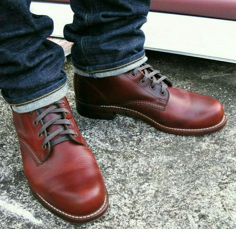 081e06156df Wolverine 1000 mile rust | Work boots | Mens boots fashion, Shoe ...