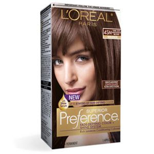 Superior Preference fade-defying hair color by L'Oreal Paris ...