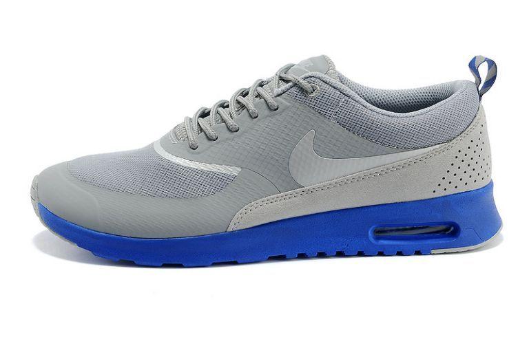 Agréable Nike Air Max Thea Mid Gris Royal Bleu Homme