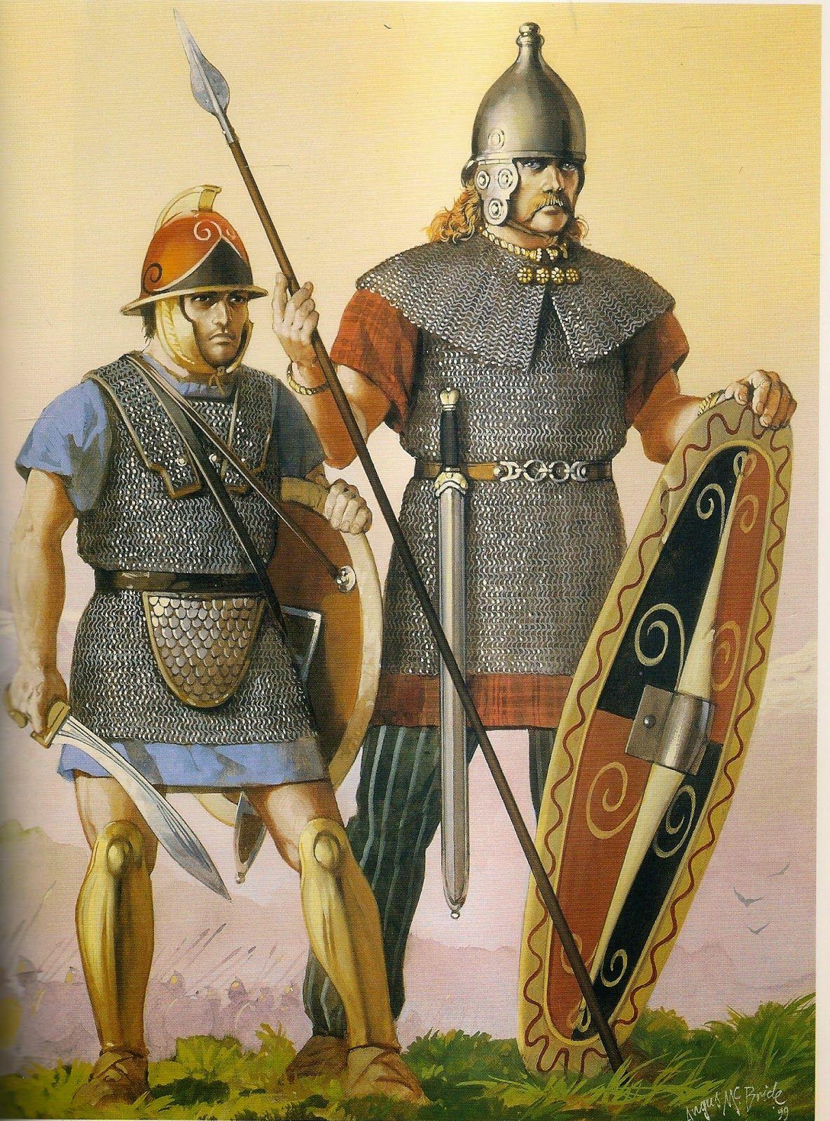 Древнегреческие тяжелые воины