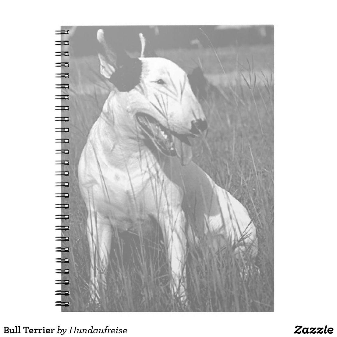 Bull Terrier Notebook Zazzle Com