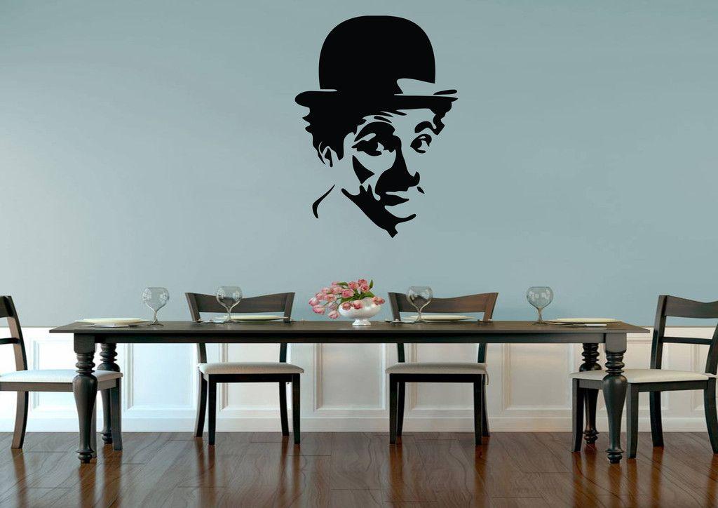 Charlie Chaplin Movie Wall Art Sticker