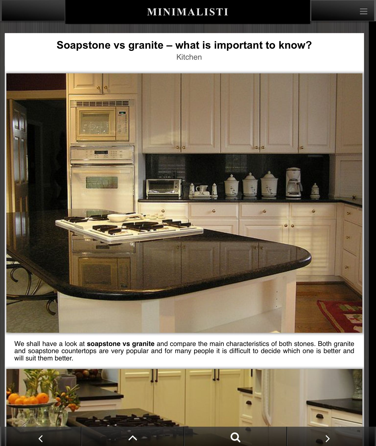 https://www.minimalisti.com/kitchen/03/soapstone-vs-granite-review Soapstone Countertops Cabi Html on