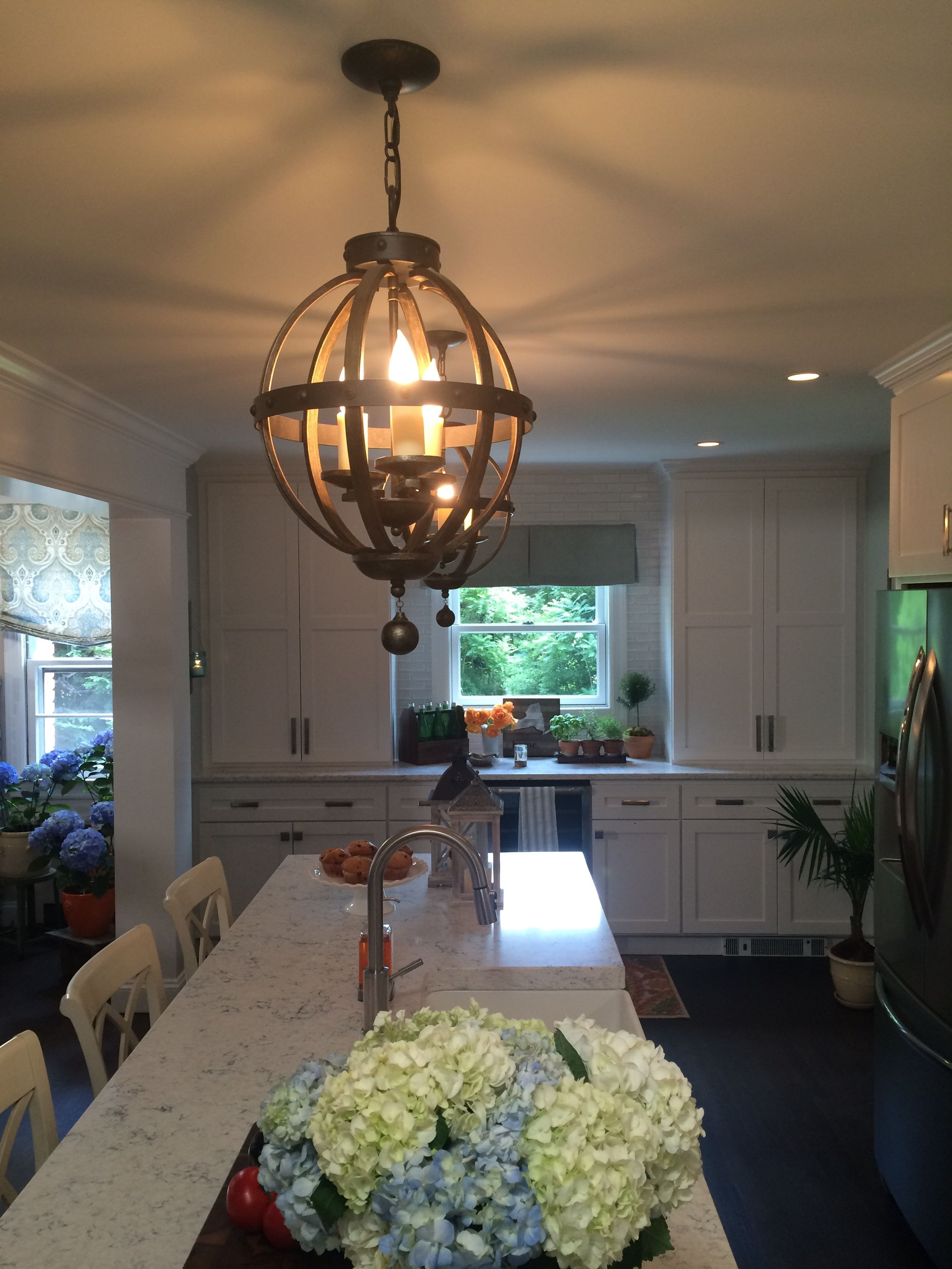 Savoy House Alsace pendants from Kevin and Shirley\'s kitchen on ...