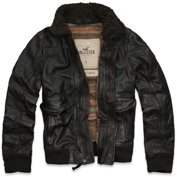 hollister biker jacket