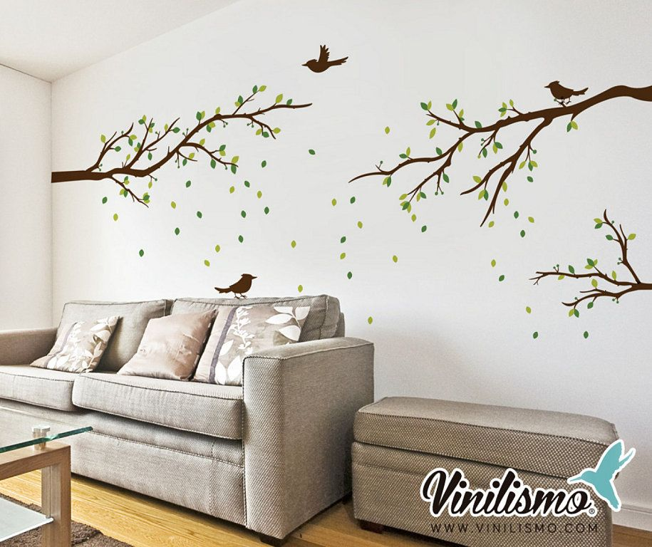 Vinilos decorativos sala buscar con google decoracion - Adhesivos neveras decoracion ...